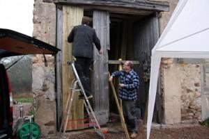 Sur-Yonne, nieuwe staldeuren