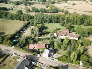 Luchtfoto Camping sur Yonne